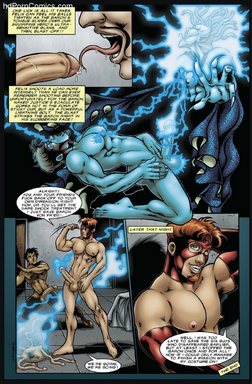 The Incredibly Hung Naked Justice 1 Sex Comic