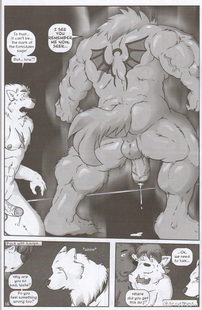 The Legacy Of Celune's Werewolves 3 Sex Comic