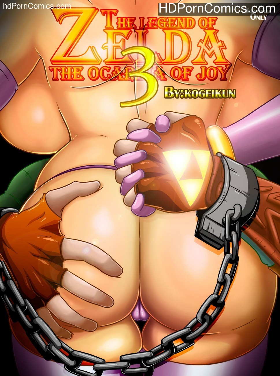 The Legend Of Zelda – The Ocarina Of Joy 3 Sex Comic