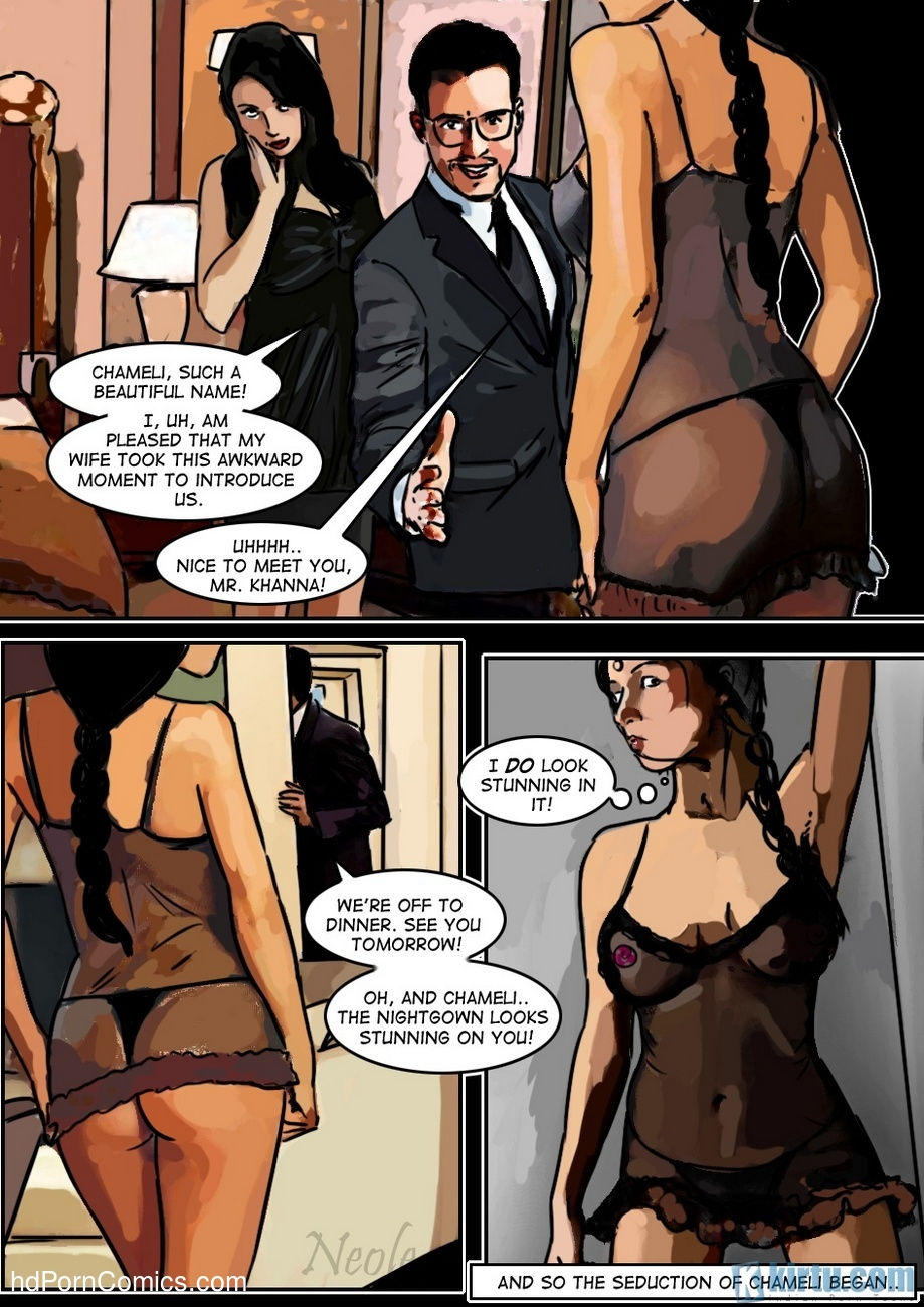 The Maid - Their Need, Her Pleasure 25 free sex comic