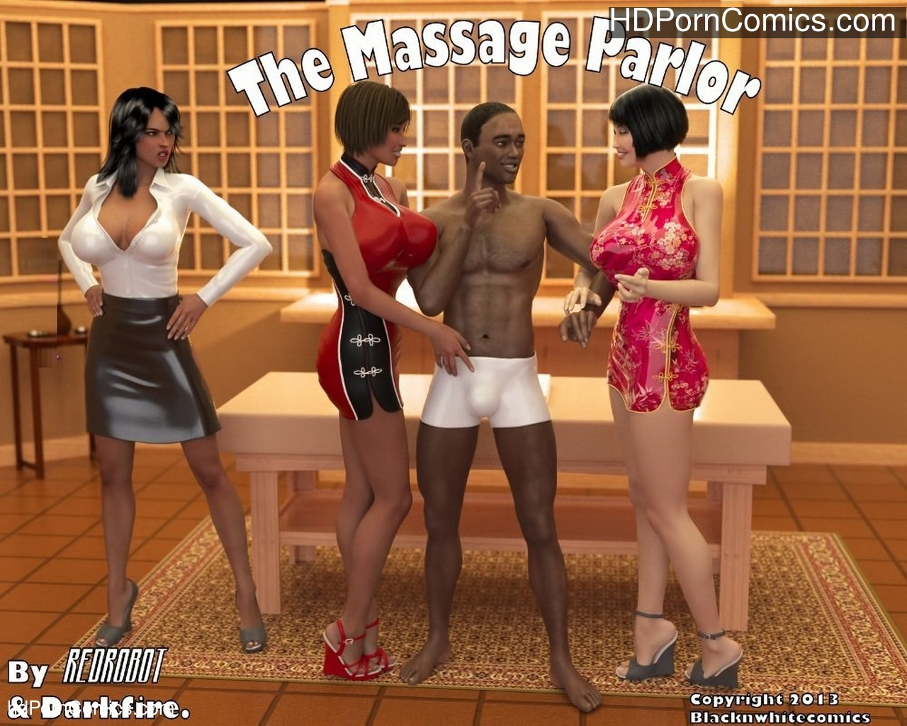 The Massage Parlor Sex Comic