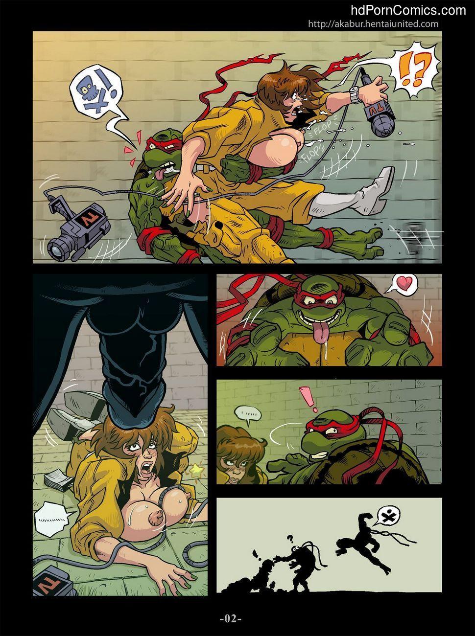 Порно черепашки ниндзя комикс на русском