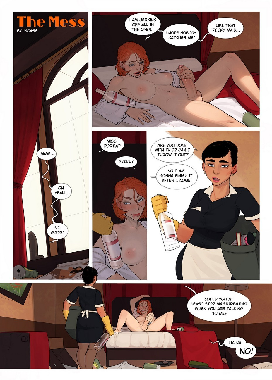 The Mess 1 2 free sex comic