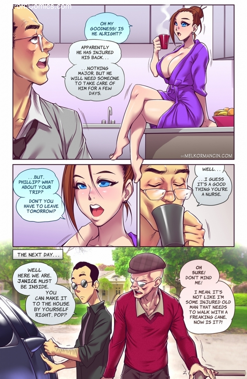 The Naughty In-Law 1 - Zero 3 free sex comic