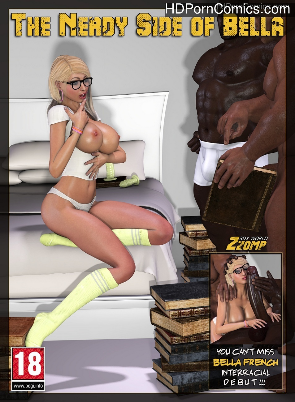 The Nerdy Side Of Bella Sex Comic