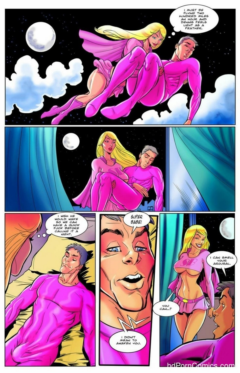 The Origin Of Super Bimbo 10 free sex comic