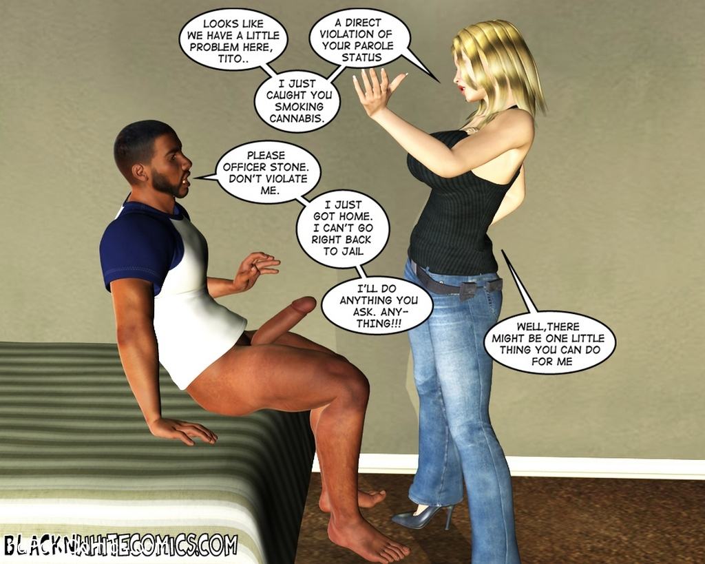 The Parole Officer 13 free sex comic
