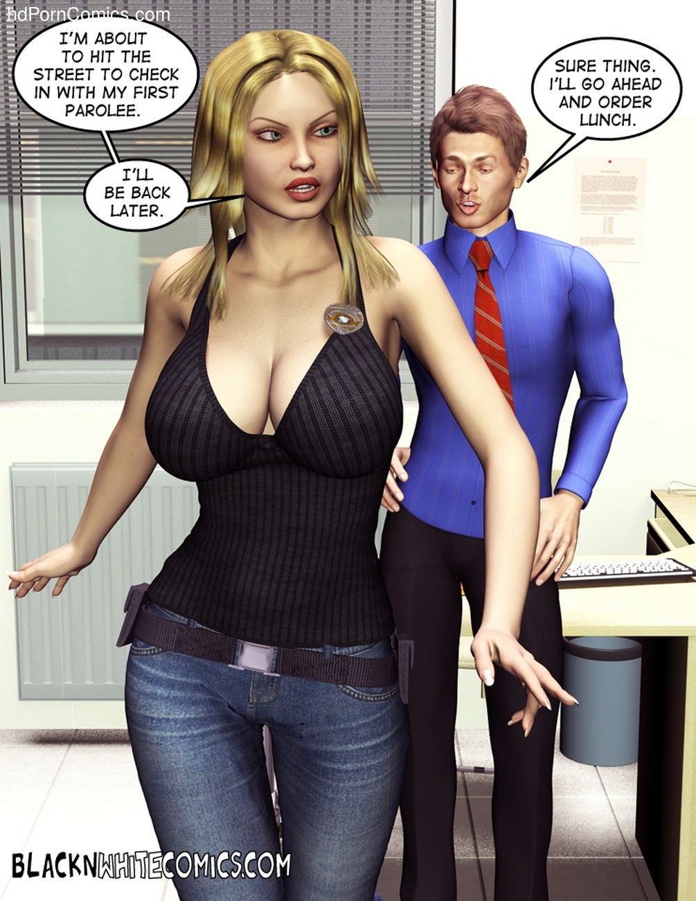 The Parole Officer 9 free sex comic