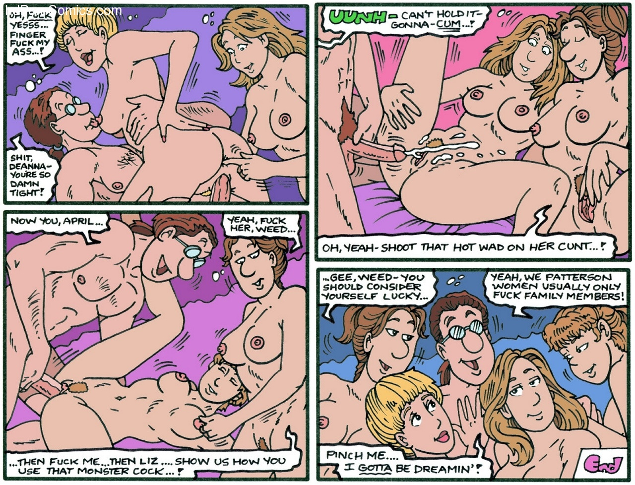 The Patterson Women In Photoshoot Sex Comic