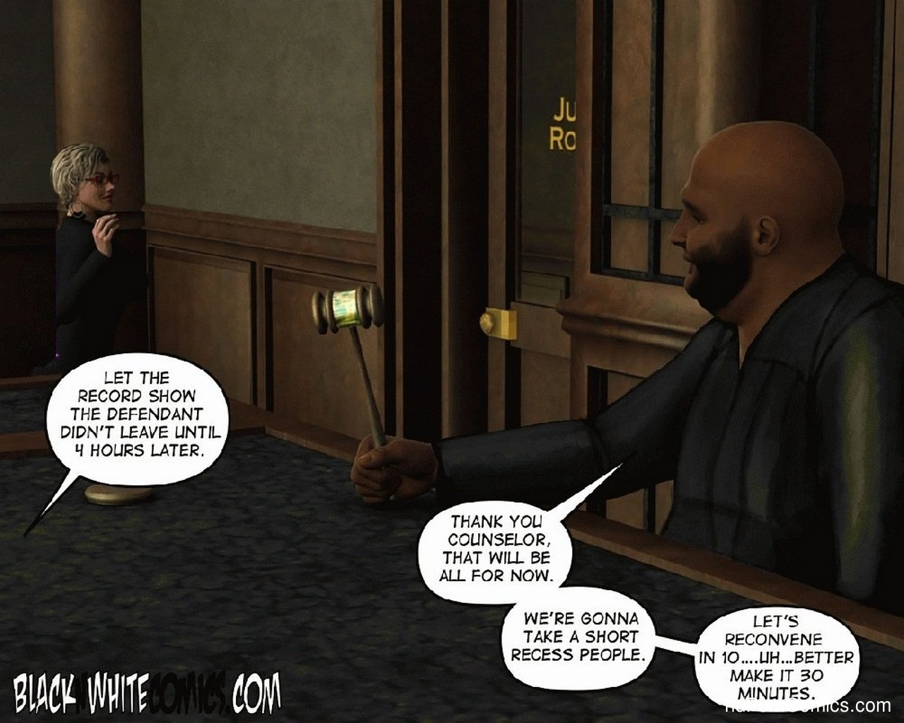 The People's Court 16 free sex comic