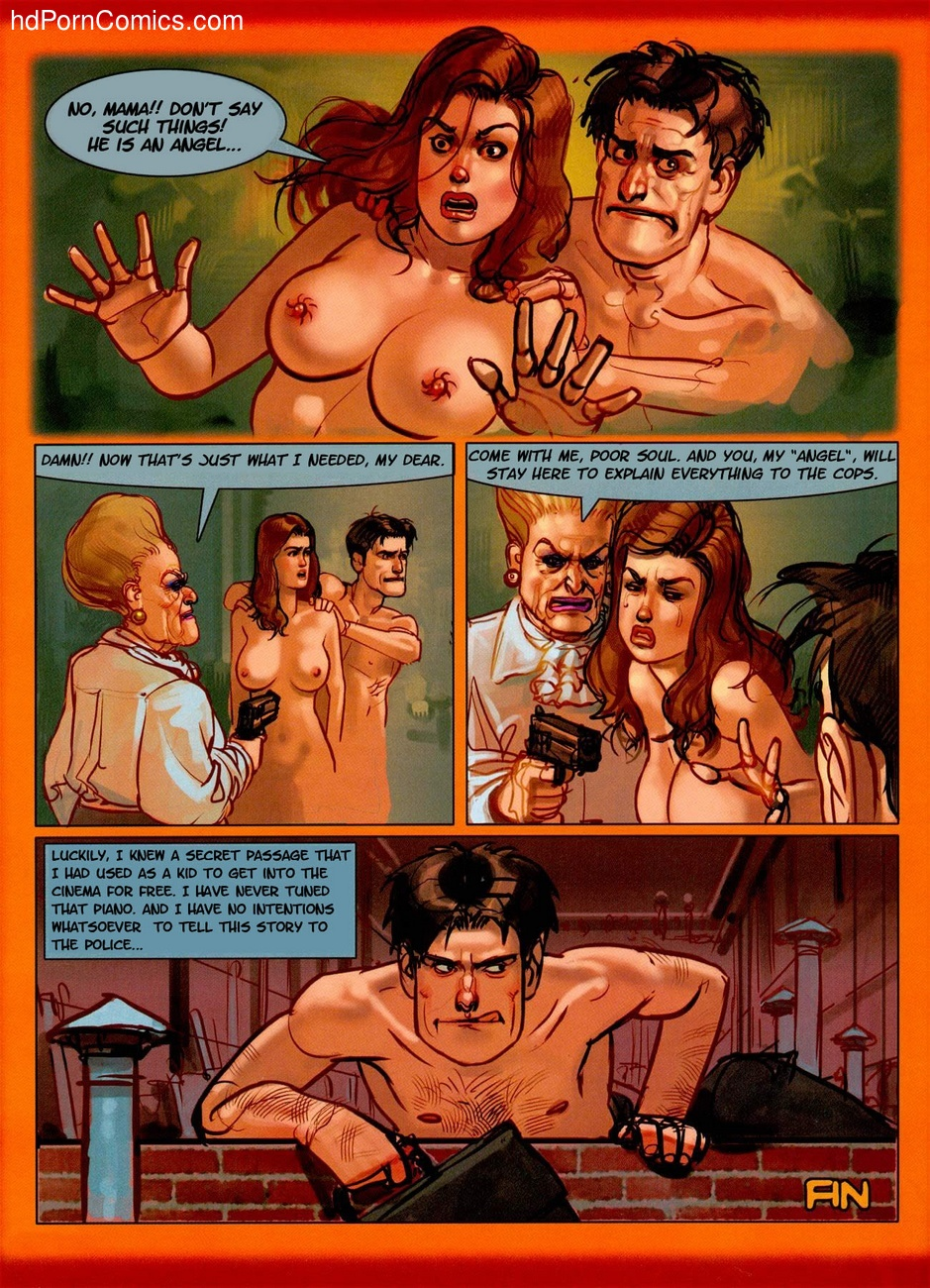 The Piano Tuner 5 Sex Comic