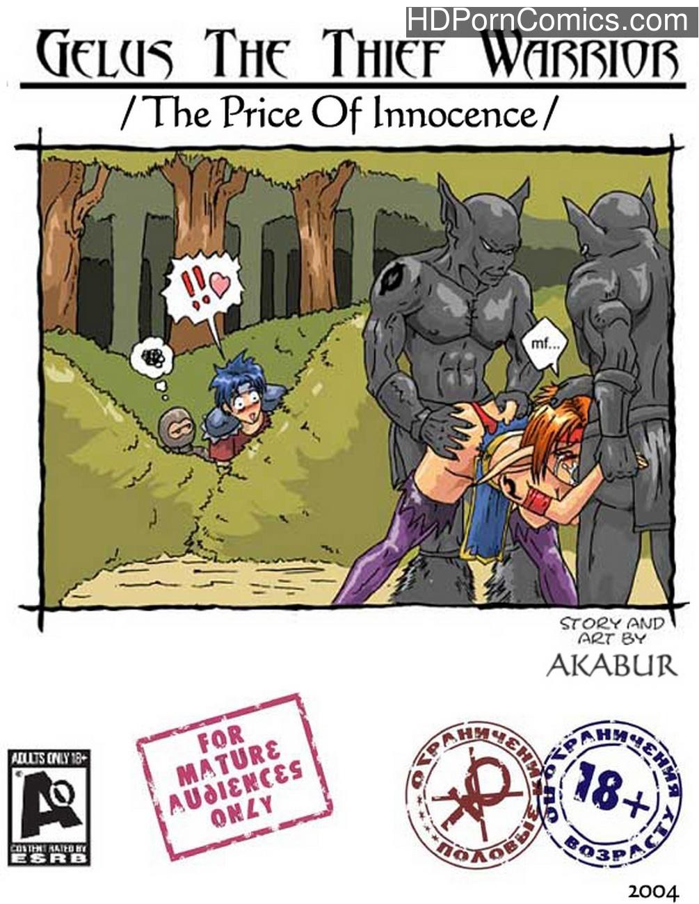 The Price Of Innocence Sex Comic