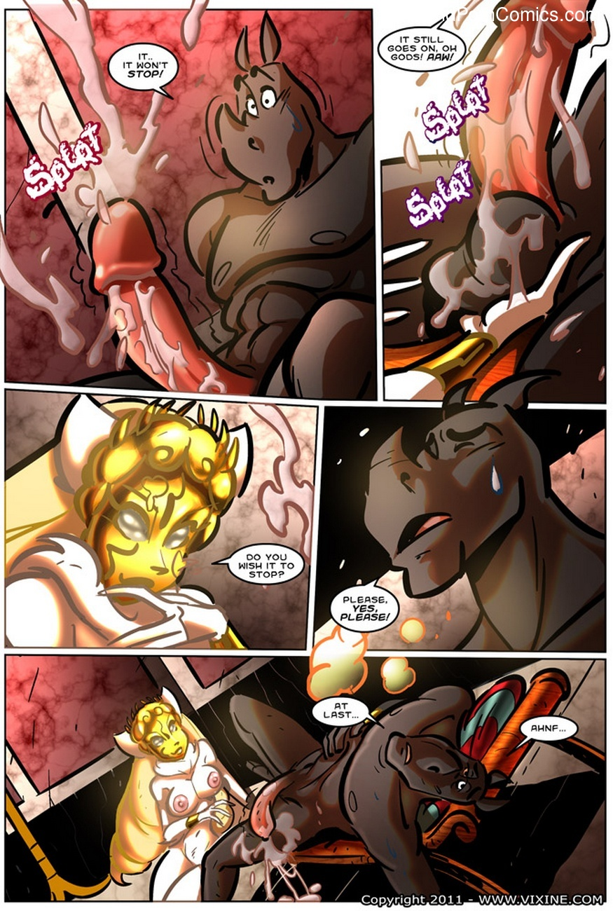The Quest For Fun 13 - Fight For The Arena, Fight For Your Freedom Part 3 10 free sex comic