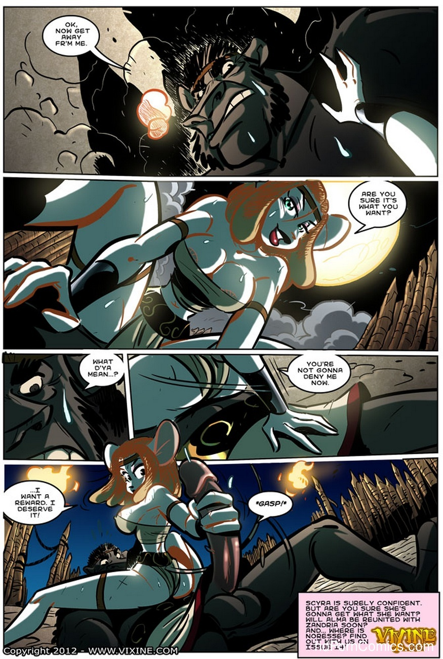 The Quest For Fun 13 - Fight For The Arena, Fight For Your Freedom Part 3 29 free sex comic