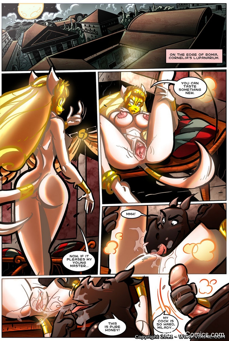 The Quest For Fun 13 - Fight For The Arena, Fight For Your Freedom Part 3 6 free sex comic