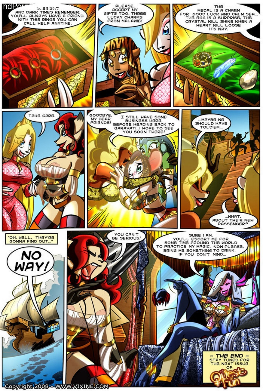The Quest For Fun 7 – The Sins Of The Fathers Sex Comic