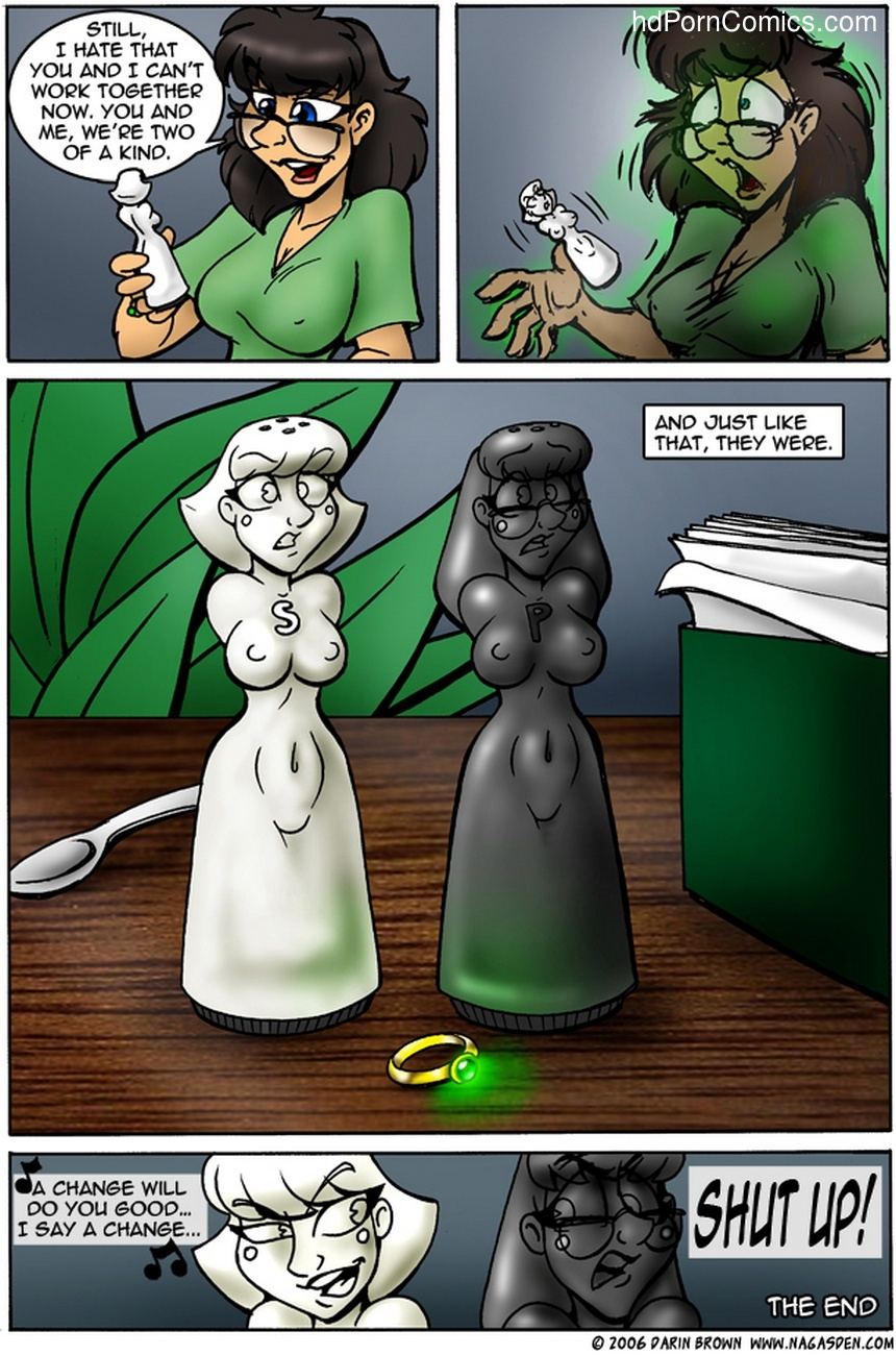 The Ring Sex Comic