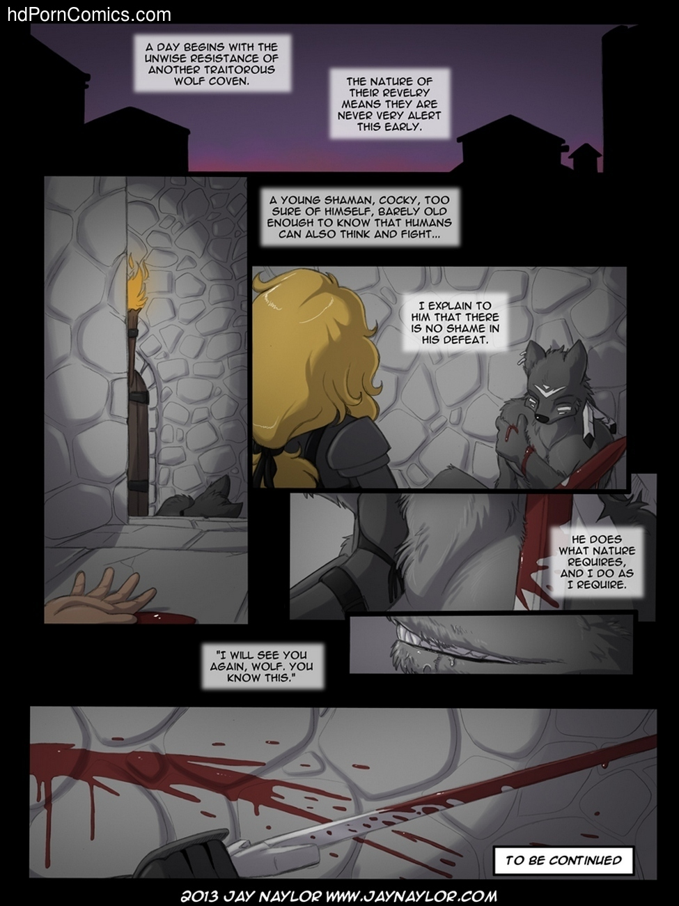 The Rise Of The Wolf Queen 1 – The Inquisitor Sex Comic