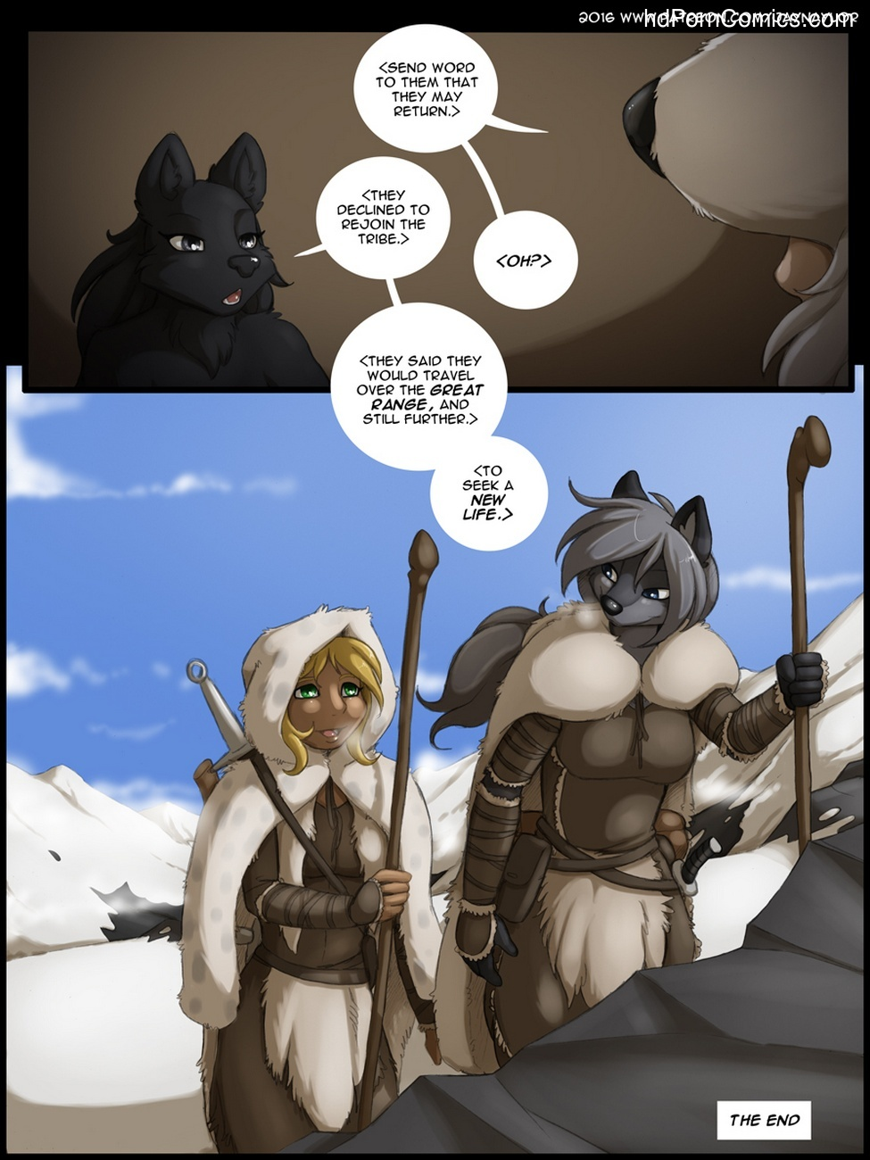 The Rise Of The Wolf Queen 4 – The Assassin Sex Comic