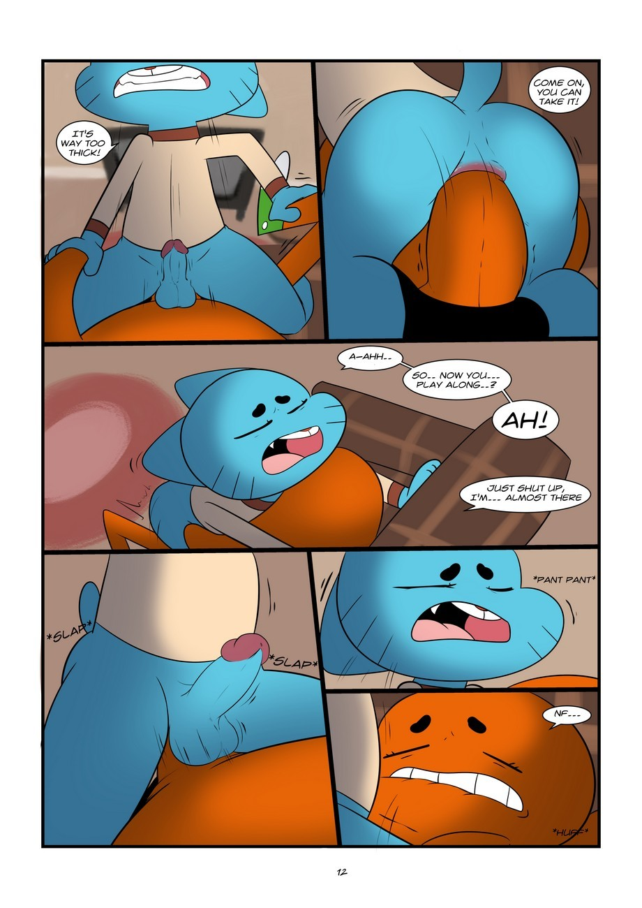 The Sexy World Of Gumball 12 free sex comic