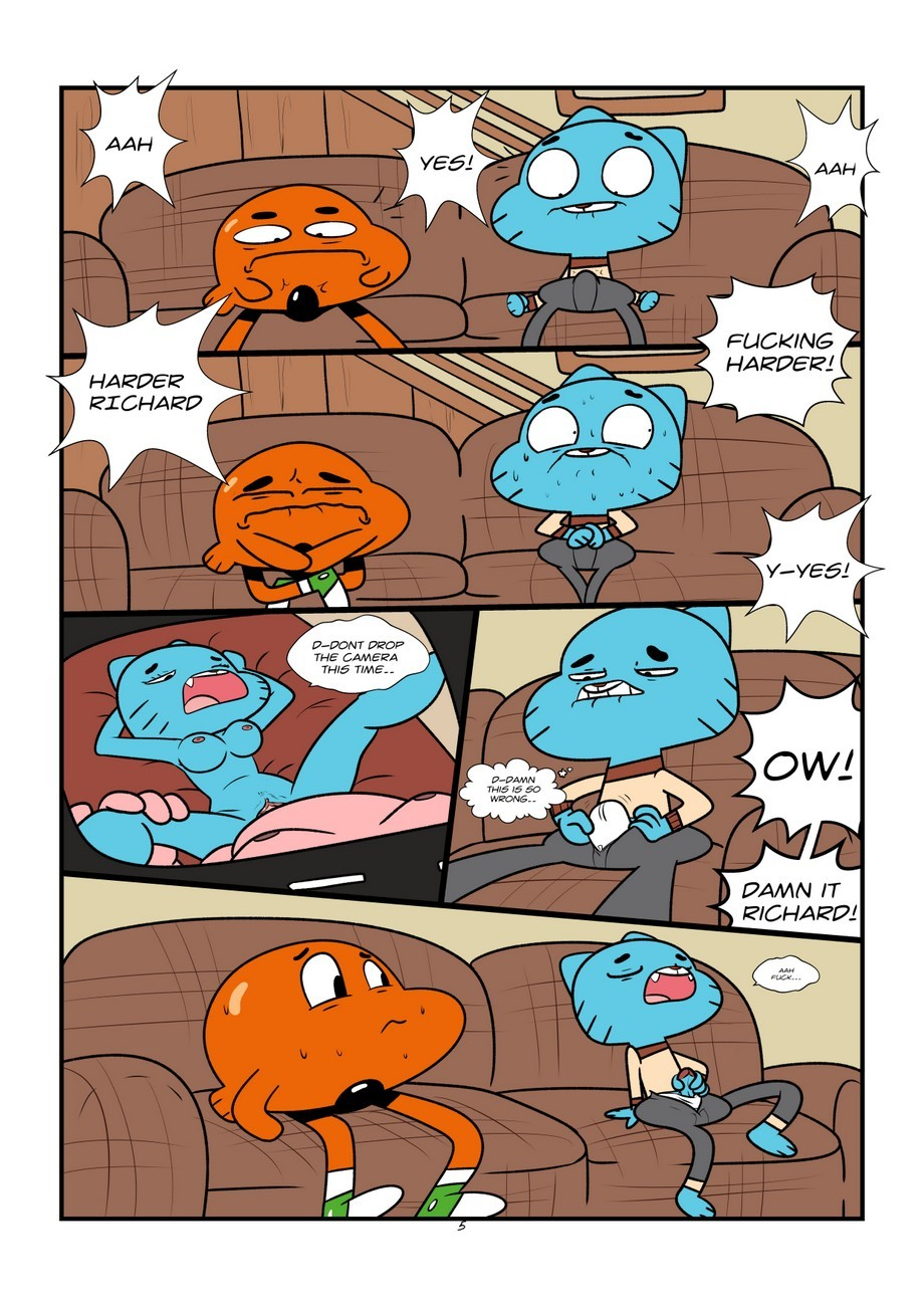 The Sexy World Of Gumball 3 free sex comic