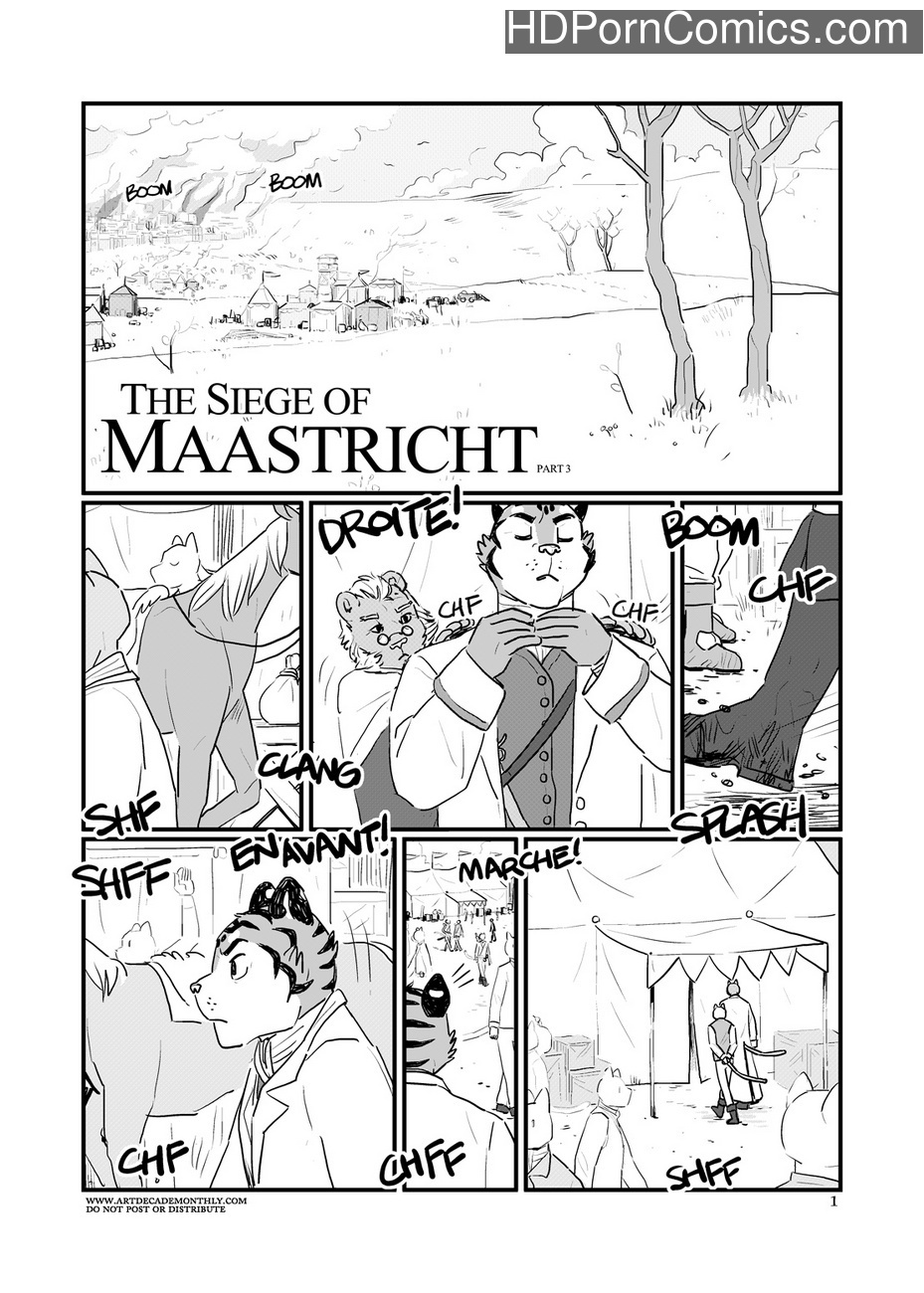 The Siege Of Maastricht 3 Sex Comic