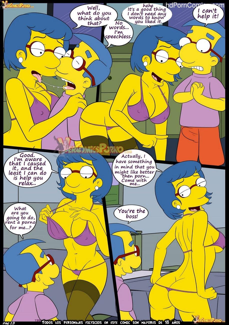 Порномульт с симпсонами