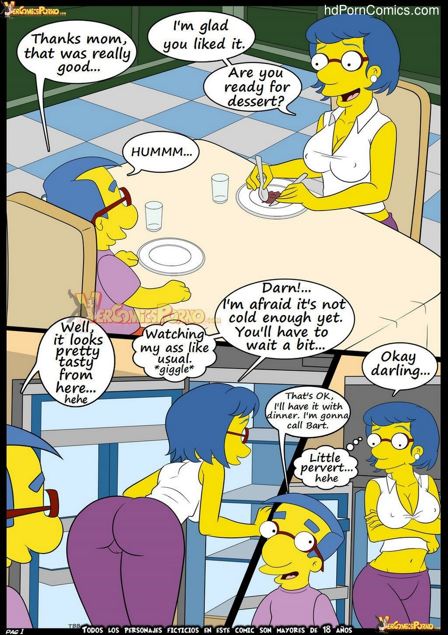 the simpsons sex comix
