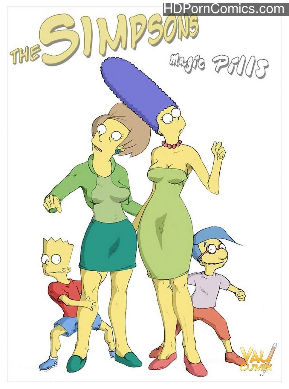 The Simpsons – Magic Pills Sex Comic