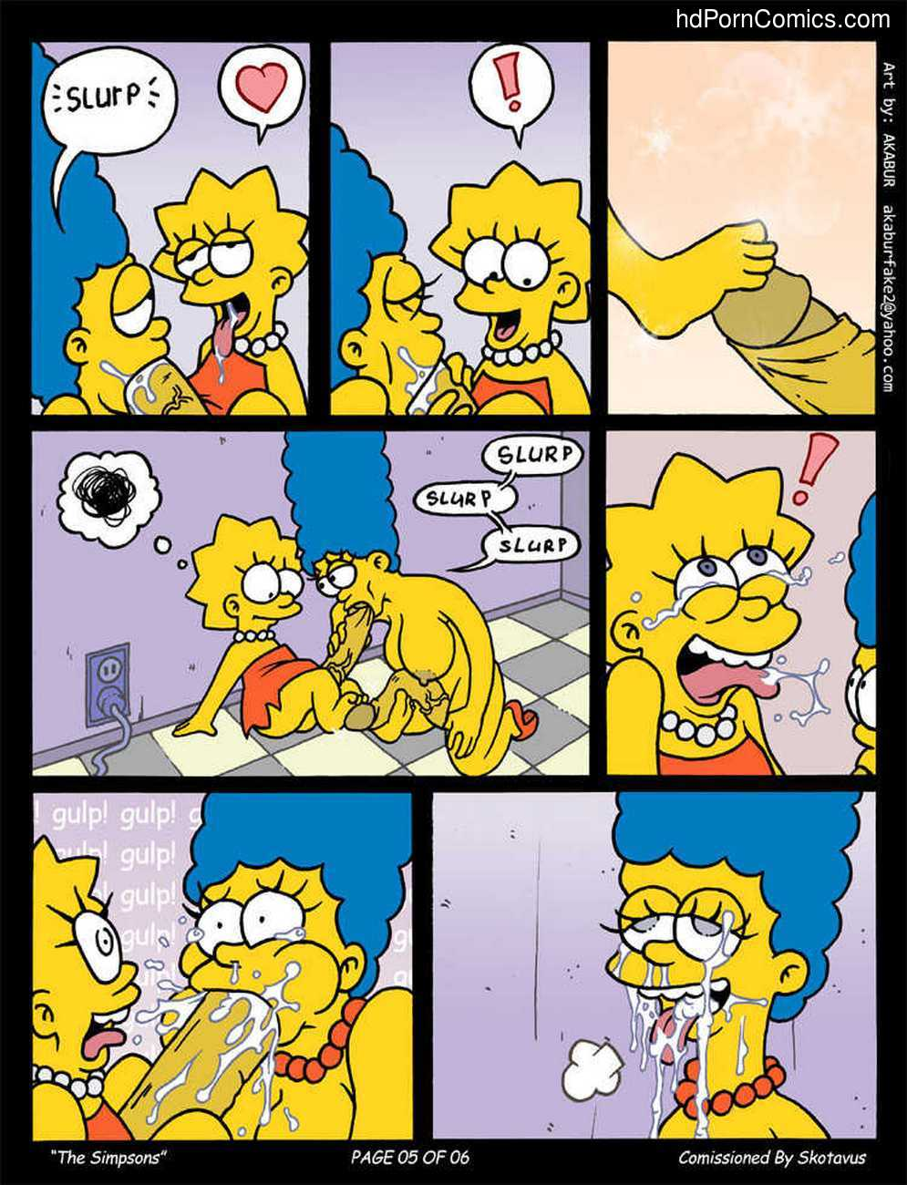 Cannot be! Simpsons free sex video