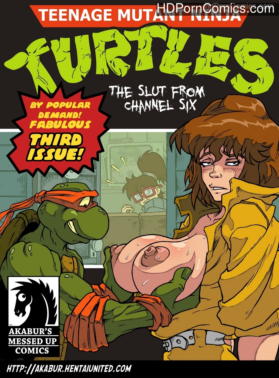 The Slut From Channel Six 3 – Teenage Mutant Ninja Turtles Sex Comic