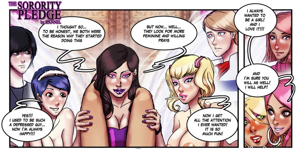 The Sorority Pledge 24 free sex comic
