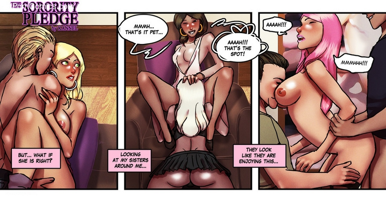 The Sorority Pledge 42 free sex comic