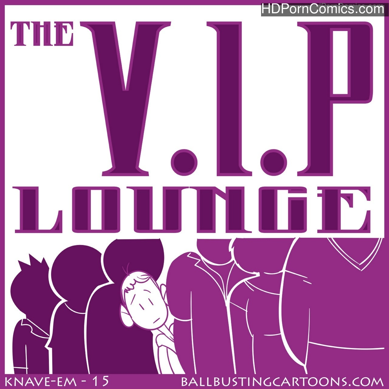 The VIP Lounge Sex Comic