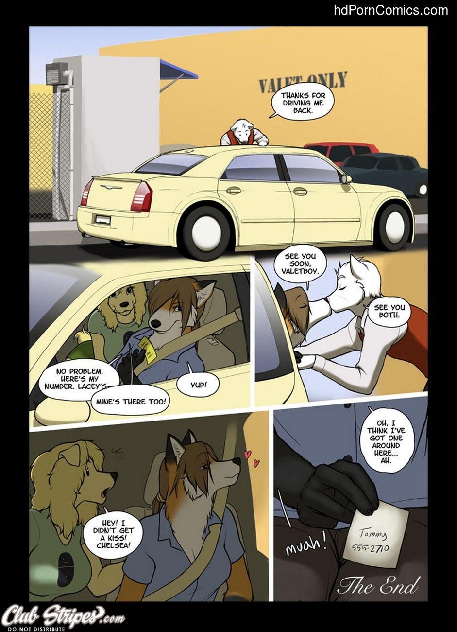 The Valet And The Vixen 3 Sex Comic