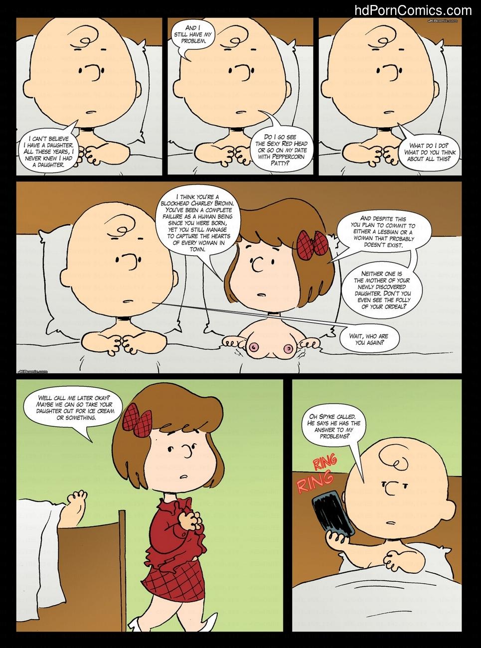 Porn comics peanuts
