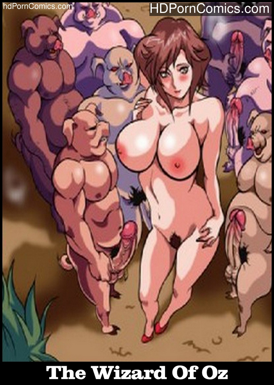 The Wizard Of Oz – A XXX Parody Sex Comic