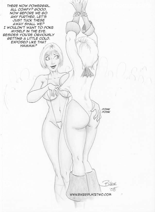 Thong Girl Meets Power Girl 10 free sex comic