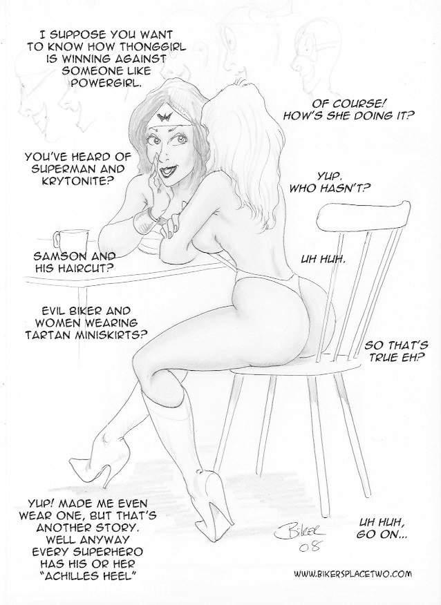 Thong Girl Meets Power Girl 20 free sex comic