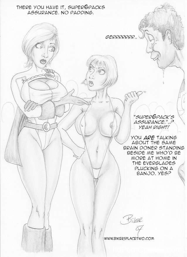 Thong Girl Meets Power Girl 4 free sex comic