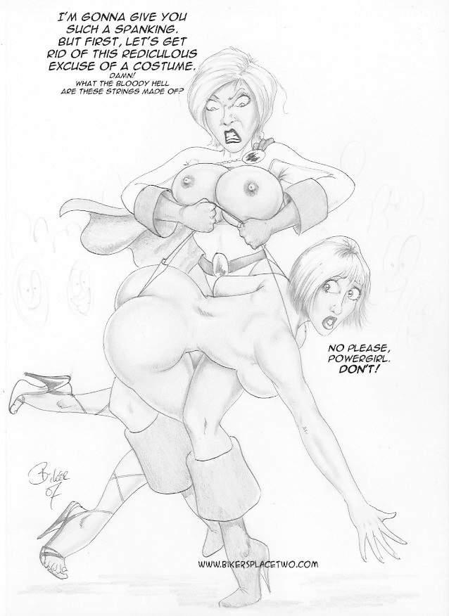 Thong Girl Meets Power Girl 7 free sex comic