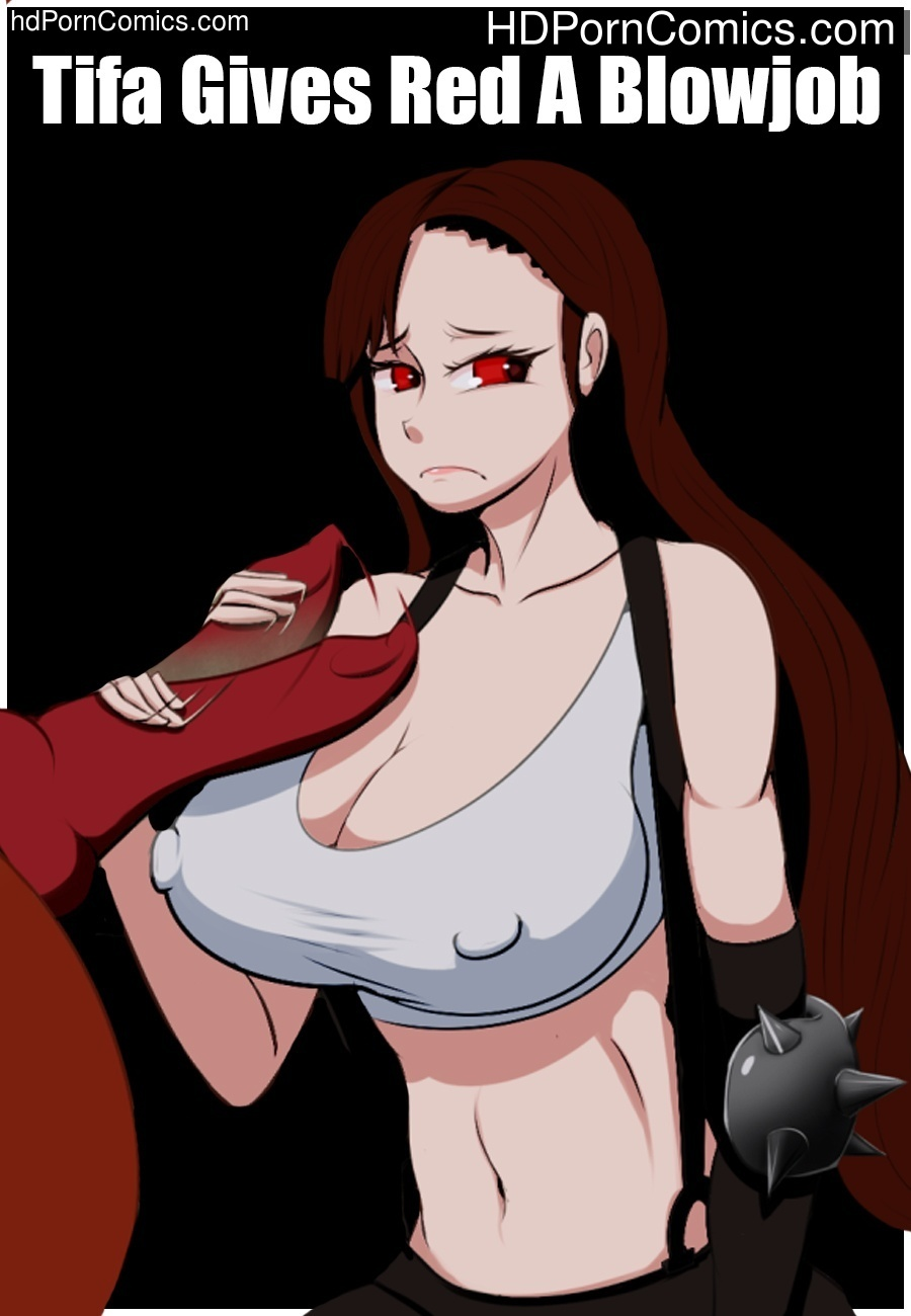 Tifa Gives Red A Blowjob Sex Comic