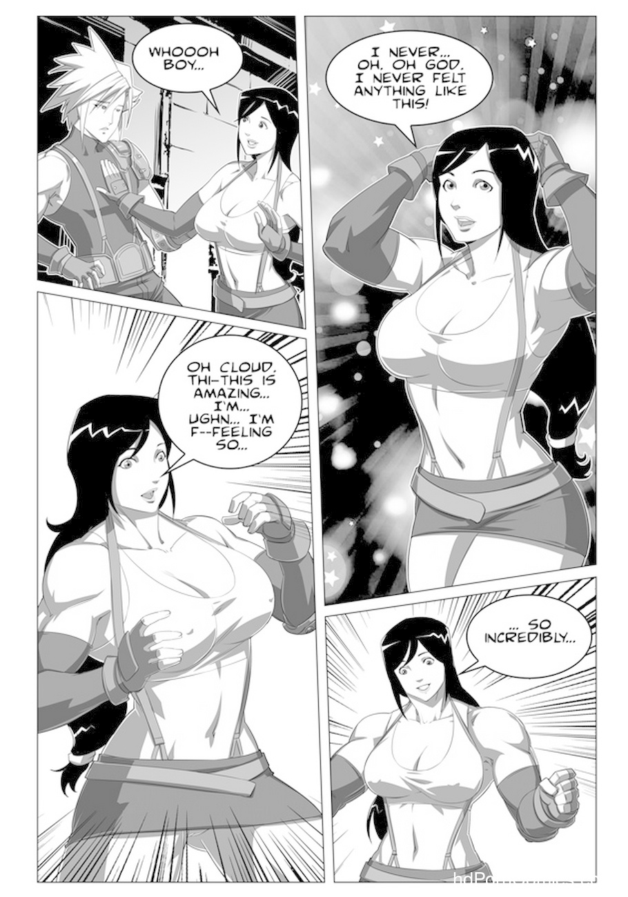 Tifa & Cloud 1 - More Than You Bargained For 5 free sex comic
