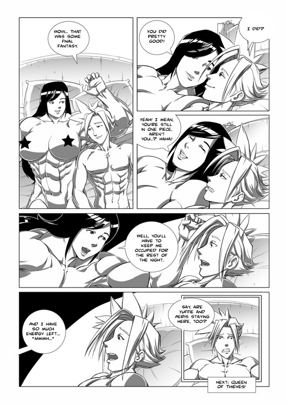 Tifa & Cloud 2 – Ride Of Your Life Sex Comic