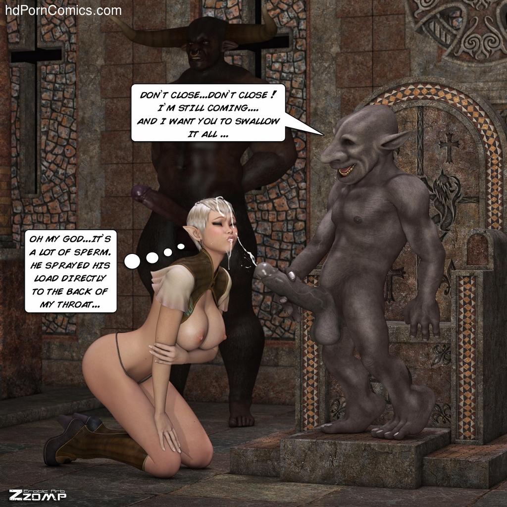 Tihanna Loves Goblins Sex Comic