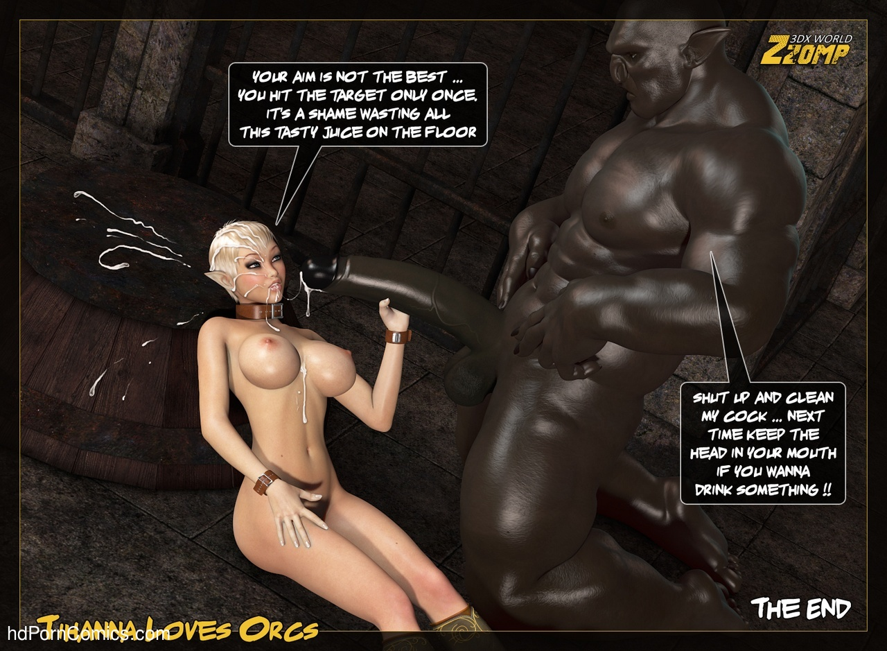 Tihanna Loves Orcs 3 Sex Comic