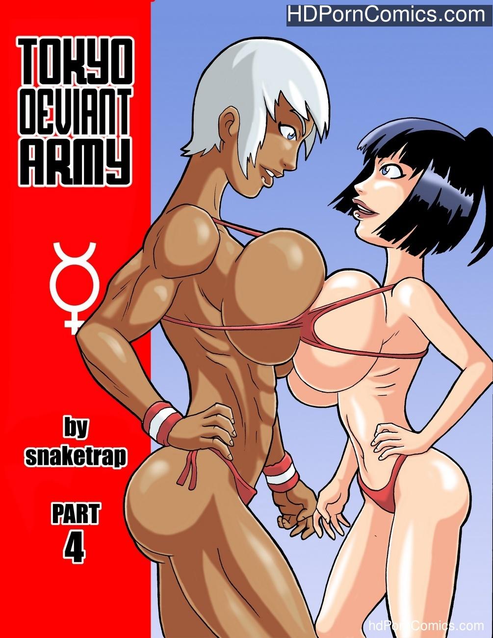 Tokyo Deviant Army 4 Sex Comic