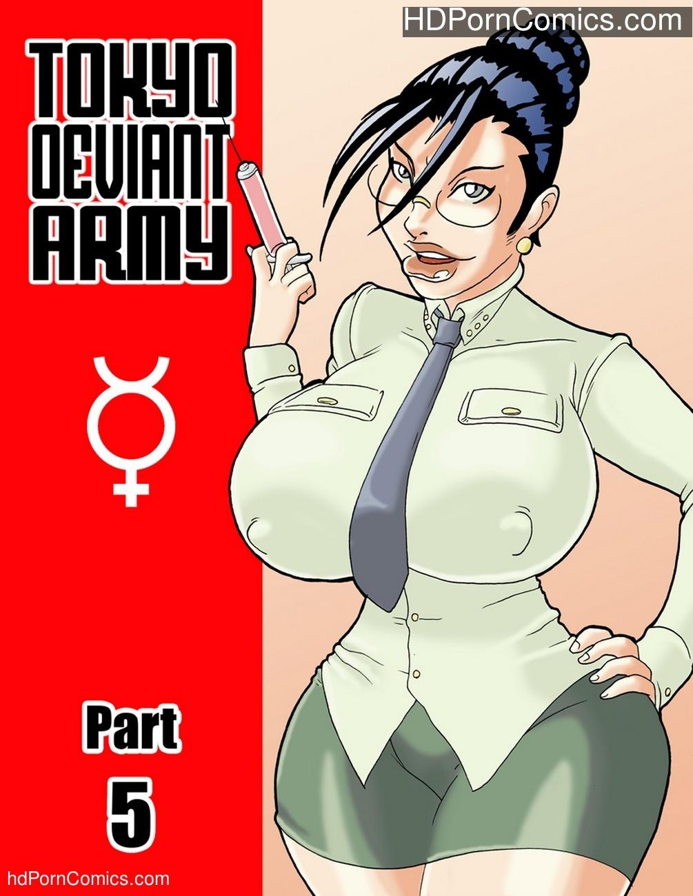 Tokyo Deviant Army 5 Sex Comic