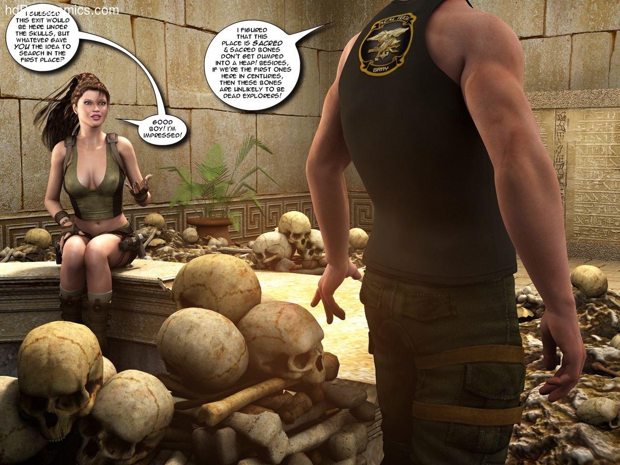 Will not Lara croft tomb raider sex comic with you