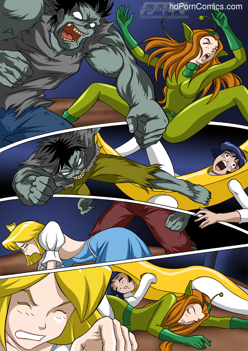 free cartoon porn totally spies - ... Totally Spies - Zombies are like, so well hung5 free sex comic